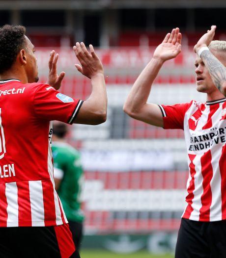 LIVE | PSV kent onbezorgde middag door bizar eigen doelpunt PEC en koelbloedige aanvallers
