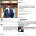 Een greep uit de statements van Marcouch op zijn online kanalen