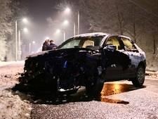 Veel schade na aanrijding in Emmeloord