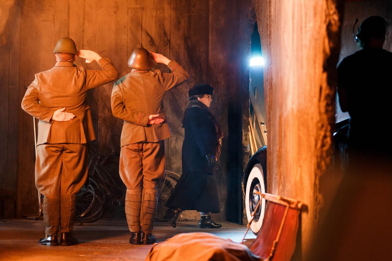 'Wilhelmina is in Soldaat van Oranje een soort moederfiguur voor de Engelandvaarders.'