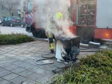 Bewoner blust zelf vaatwasserbrand in 's-Gravenzande