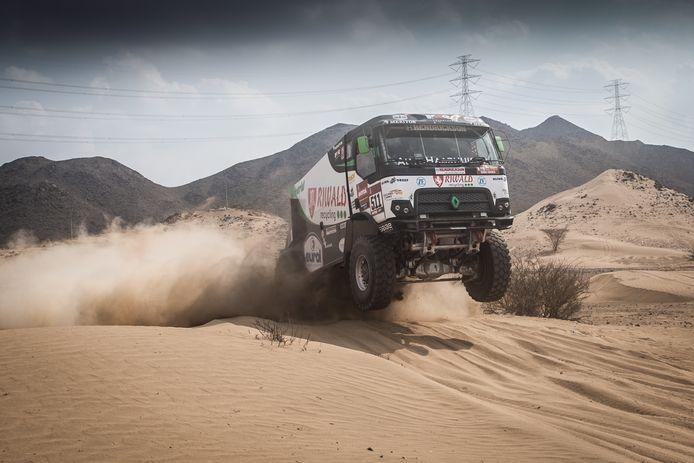Het Riwald Dakar Team hoopt dat de rally woensdag hervat kan worden.