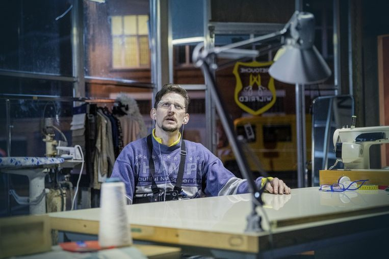 Studio Orka: 'Pied de Poule'. Beeld Phile Deprez