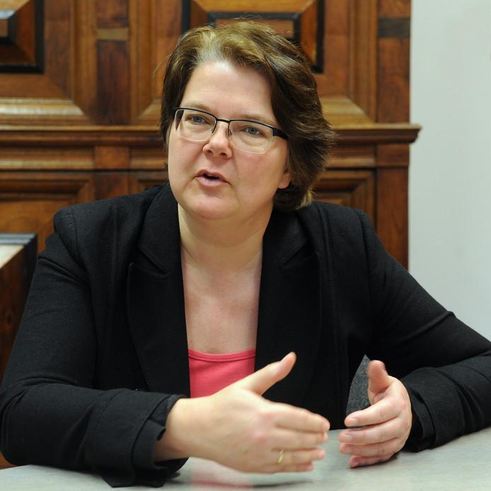 Klaartje Koenraad trekt bij de gemeenteraadsverkiezingen van 2018 opnieuw de kar voor GroenLinks in Roosendaal.
