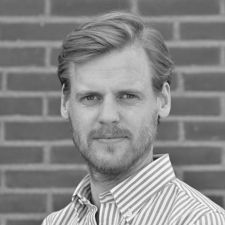Rutger Noorlander is sociaal geograaf, werkzaam als zelfstandige in de erfgoedsector en lid van Bond Heemschut commissie Amsterdam. Beeld -