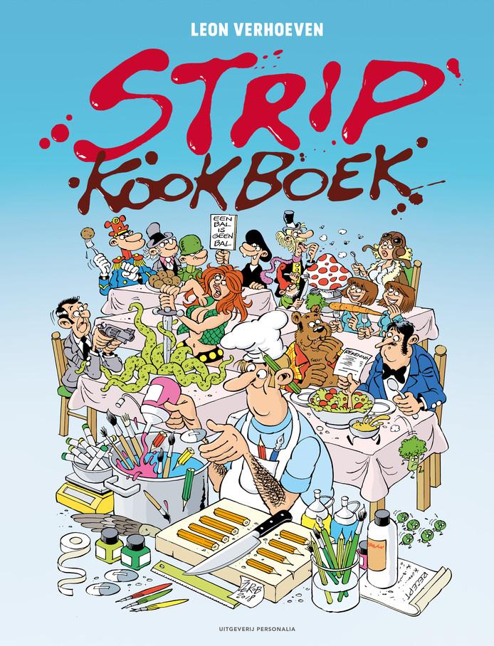 Maandag wordt het eerste StripKookboek gepresenteerd in Rotterdam. Verschillende Rotterdamse tekenaars werkten mee aan dit bijzondere kookboek van chef-kok Leon Verhoeven.