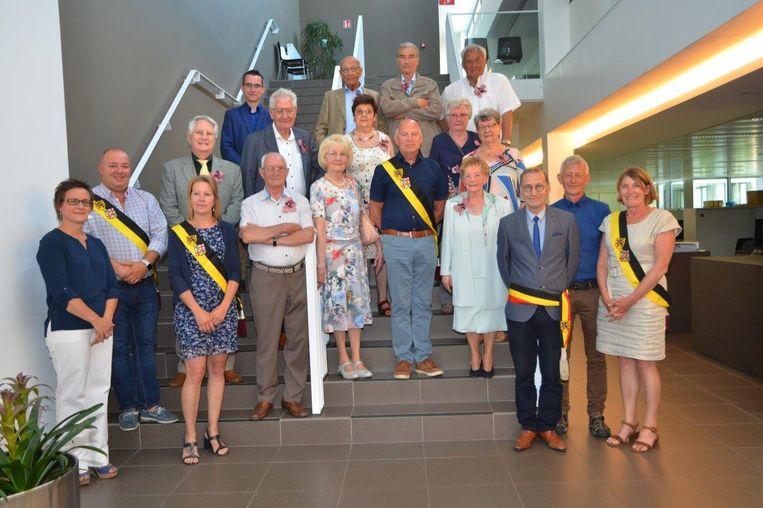 De 80-jarigen van Boekhoute.