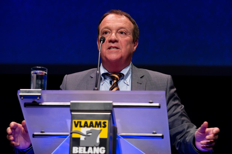 Binnen Vlaams Belang wordt Filip De Man beschouwd als een van de grondleggers van de partij. Beeld BELGA