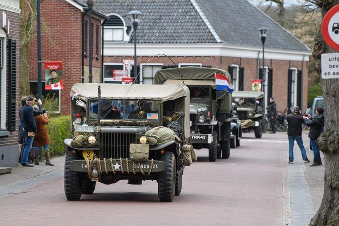 De Stichting Hellendoorn Bevrijd koos in coronatijd bewust voor een bescheiden viering van de bevrijding van het dorp.