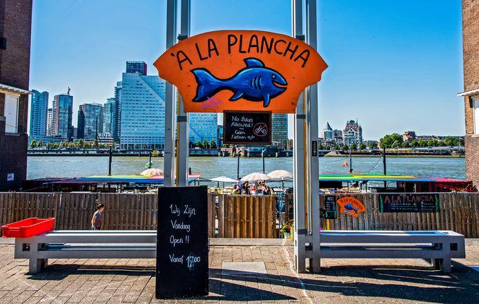 Het populaire visrestaurant blijft dit jaar dicht.