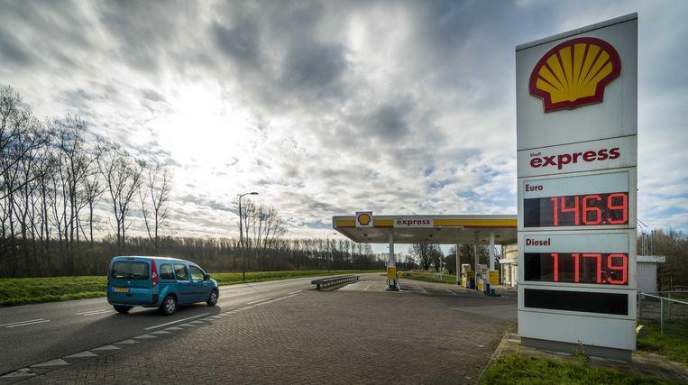 De brandstofprijzen dalen sterk door minder vraag.  Beeld ANP, Lex van Lieshout