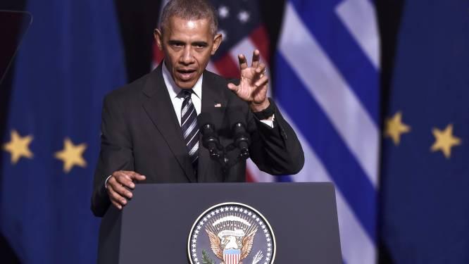 """Obama sust: """"Democratie is meer dan één persoon"""""""