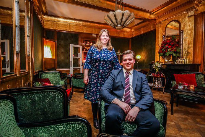 Delphine Christiaens en Joachim Meersseman runnen het meest romantische hotel van West-Europa.