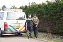 Een verdachte is aangehouden bij het mogelijke drugslab in Hulten.