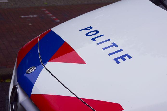 Een politieauto.