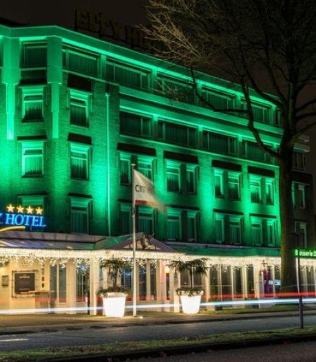 Gele letters prijken nog op de gevel, maar City Hotel is voltooid verleden tijd: 'Groot gemis voor de stad Oss'