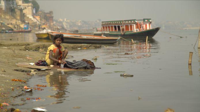De Ganges in India fungeert als open riool