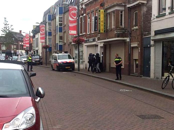 Aanhouding in de Molenstraat in Roosendaal.