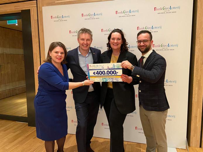 Stedelijk Museum Schiedam ontving eerder deze maand ook een eenmalige subsidie van de BankGiro Loterij van 4 ton.