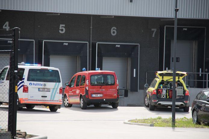 Brandweerpost Sint-Truiden en een MUG team snelden ter plaatse.