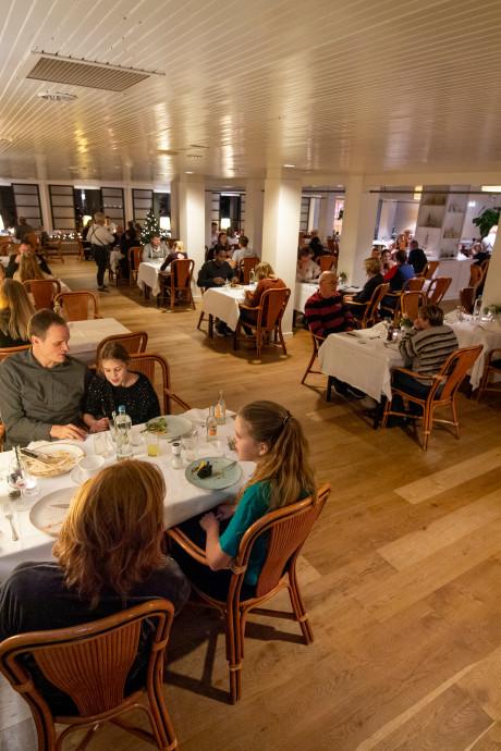 Restaurant Moods in Bad Boekelo mist sfeer