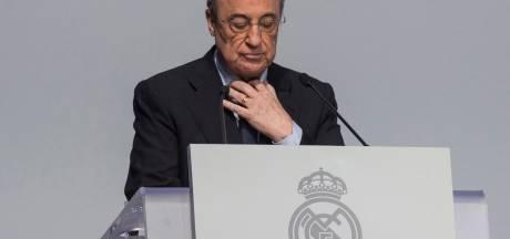Florentino Perez, seul candidat, réélu président pour un 6e mandat à la tête du Real