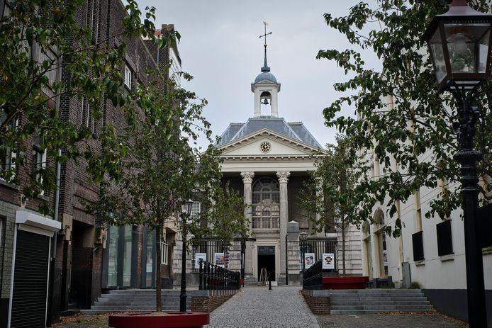 Het Sint Jacobs Gasthuis, het onderkomen van het Stedelijk Museum Schiedam.