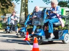 Veel ongelukken met de scootmobiel, maar díe rijdt nog rond