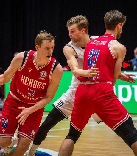 Heroes Den Bosch opent basketbalcompetitie met zeperd in Den Helder