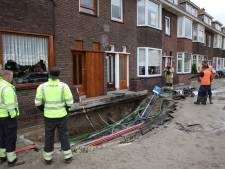 'Vrachtverkeer door wijk is mogelijk oorzaak gesprongen waterleidingen Overschie'