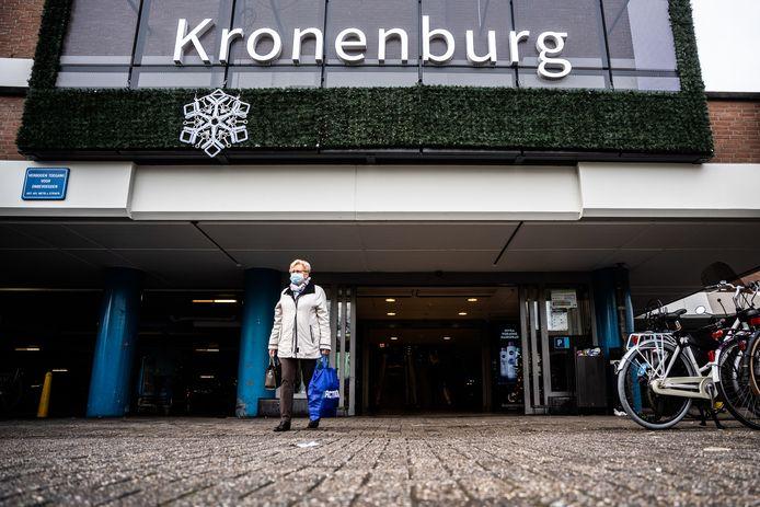 Foto ter illustratie: een van de entrees van Winkelcentrum Kronenburg in Arnhem.