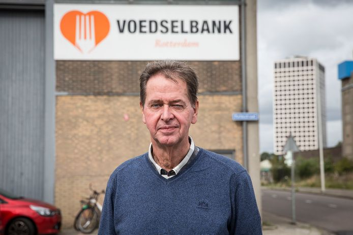 Rob Boswinkel, directeur Voedselbank Rotterdam