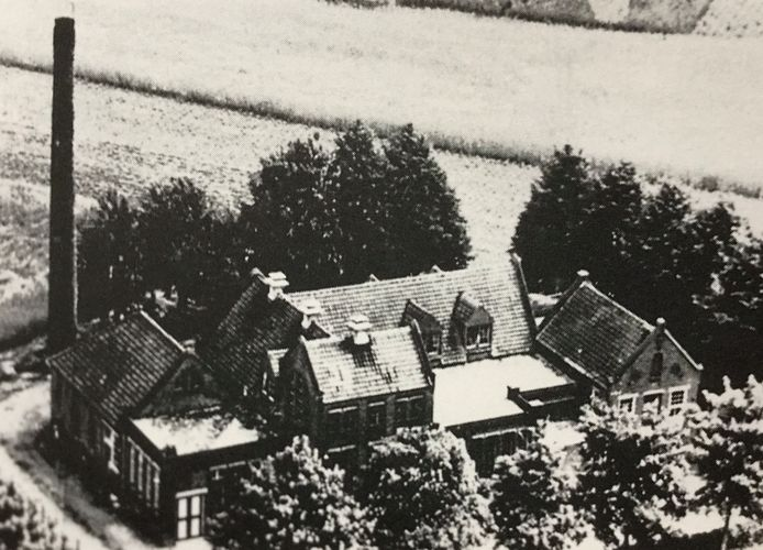 De coöperatieve stoomzuivelfabriek Sint Isidorus in Ravenstein