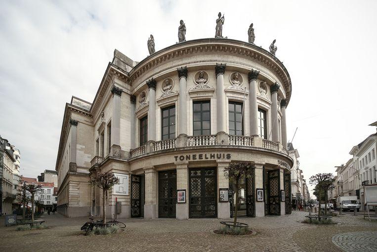 De Bourlaschouwburg/Het Toneelhuis in Antwerpen. Beeld Belga
