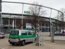 Strenge controles bij stadion Hannover