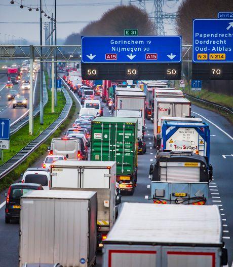 Verbreding A15 tussen Papendrecht en Sliedrecht gaat van start