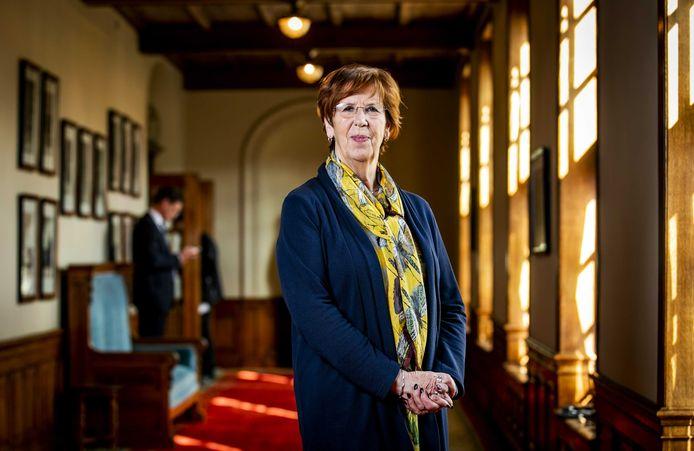 Annemarie Jorritsma, lijsttrekker VVD in de Eerste Kamer