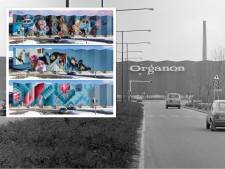 Al bijna 2000 stemmen op ontwerpen voor kunstwerk op blauwe Organon-wand: 'Een groter canvas hebben we niet in Oss'