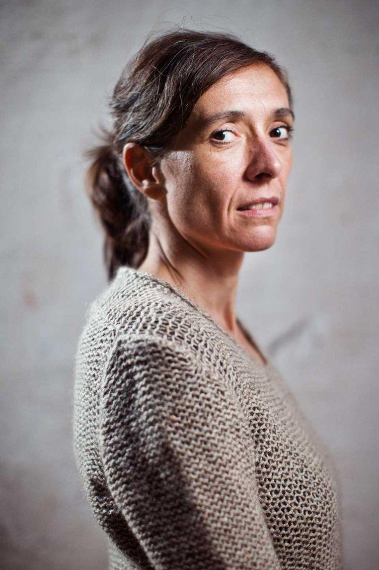 Sara De Roo. Beeld Jonas Lampens