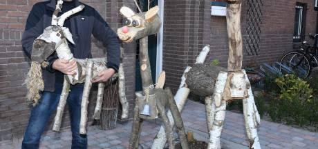 Lama, giraf, varken en rendier in de voortuin: dan trek je bekijks!