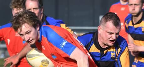 Rugbyer Dennis van Gelderen geniet van rivaliteit met Nieuwegein