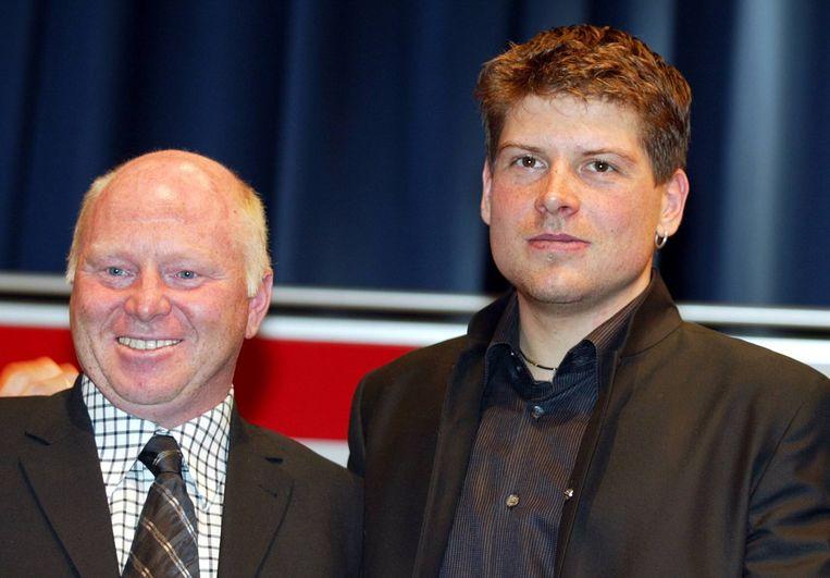 Rudy Pevenage en Jan Ullrich.