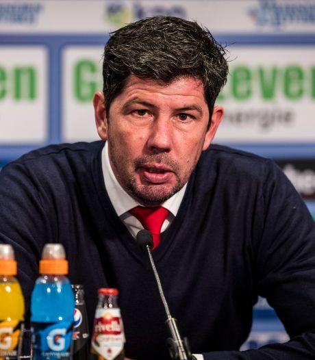 Trainer Van de Looi per direct weg bij Willem II