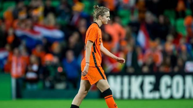 Miedema na gelijkspel tegen Tsjechië: 'Moeten niet te veel afhankelijk worden van één speler'