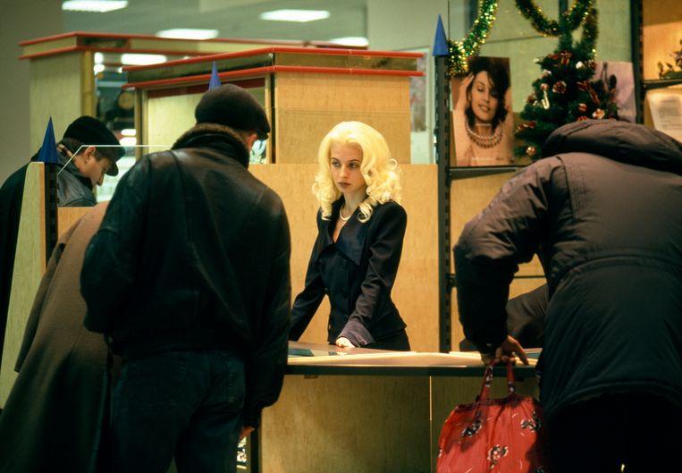 Luxewinkel in Moskou in de jaren negentig, na de instorting van de Sovjet-Unie. Beeld ©Gueorgui Pinkhassov / Magnum P