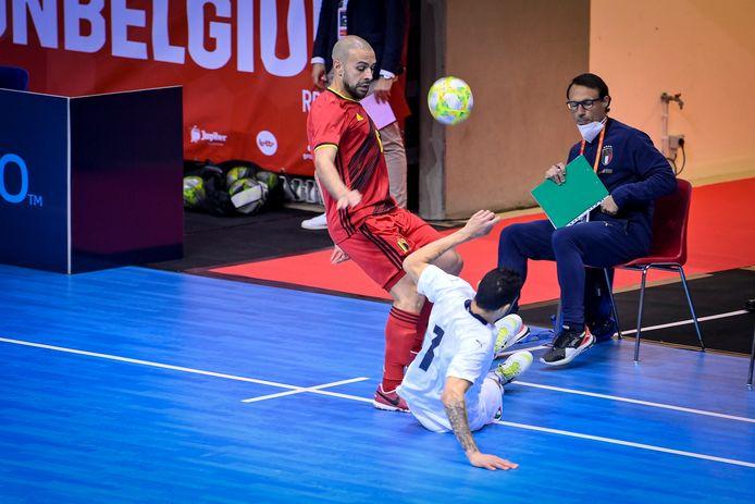 Ondanks een stunt tegen Italië kon Ahmed Sababti België niet naar het EK loodsen.