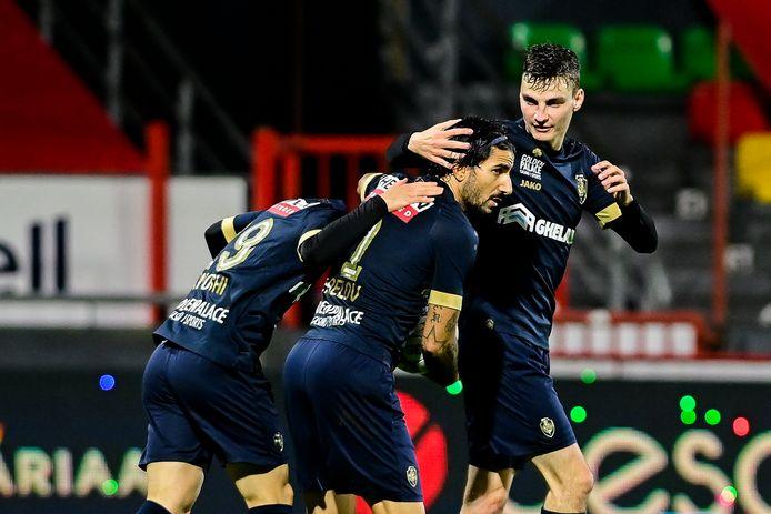 Le but de Lior Refaelov a permis à l'Antwerp de sauver un point contre Ostende.