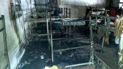 32 gewonden door brand in Bosnisch migrantencentrum