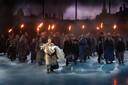 De première van Daens in het Pop-Up Theater in Puurs, net voor corona toesloeg.