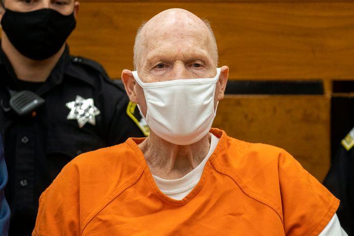 Joseph James DeAngelo keek zijn slachtoffers in de rechtbank niet in de ogen.